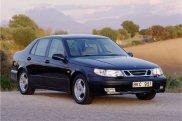 SAAB 9-5 1998 синий седан