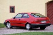 SAAB 900 II красное купе