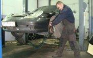 Ремонт подвески Porsche Boxster.