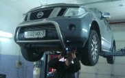 Nissan на диагностике